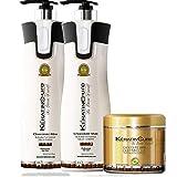 Cheap Keratin Cure SULFATE FREE- Chocolate Brazilian Shampoo,Conditioner, Deep Masque with Aloe for keratin treated hair Daily Use Promote hair growth decrease hair loss (960ml/ 32 fl oz)