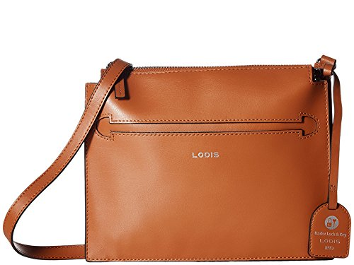 Lodis Accessories Women's Silicon Valley RFID Kay Accordion Crossbody Toffee/Taupe One Size (Lodi Stores)