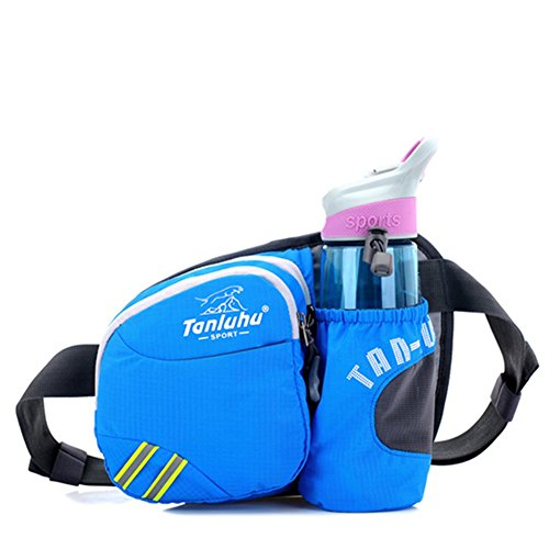 Outdoor Pockets Bag Yxngbo And For Chest Sports Waist Waterproof Pack Running Men Blue Women 55r7wvq