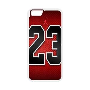Jordan 23 iPhone 6 Plus 5.5 Inch Cell Phone Case White SA9731378