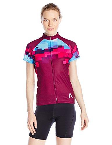 Primal Wear Women's Mache Jersey, X-Large, Burgundy