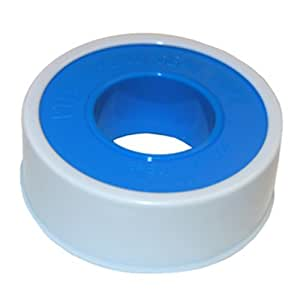 LASCO 11-1033 PTFE Pipe Sealant Tape, 1/2-Inch x 100-Inch, White