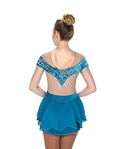 Jerry's Ice Skating Dress - 251 Crown Gown Dress - Ocean Jewel (Blue, Size AS)]()
