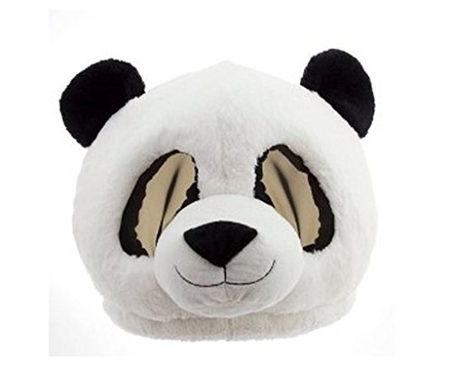 Maskimals Plush Head Halloween Costume, (Halloween Panda Costume)