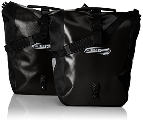 Front-Roller Classic QL2.1 Panniers (pair) BLACK # - Ortlieb F6301