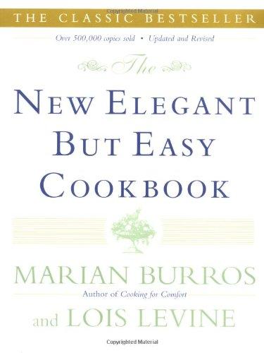 Read Online The New Elegant But Easy Cookbook pdf