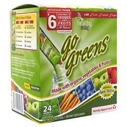 Здоровый To Go! Перейти Зеленые Apple, дыни 24 - пакеты 6,75 унций (192 г)
