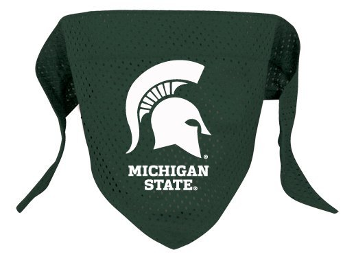 NCAA Michigan State Spartans Pet Bandana, Team Color, Small