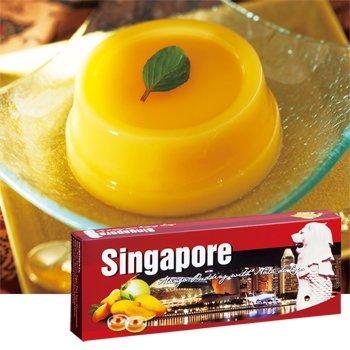 シンガポールお土産 シンガポール マンゴープリン ナタデココ入り
