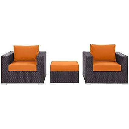 Swell Amazon Com Jumpinglight Convene 3 Piece Patio Sofa Set In Andrewgaddart Wooden Chair Designs For Living Room Andrewgaddartcom