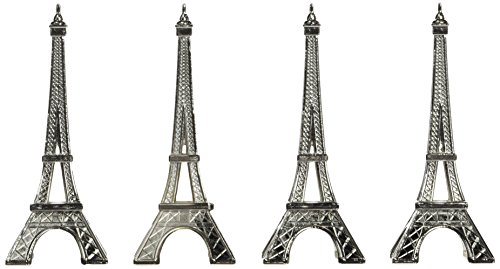 Eiffel Tower Place Card Holders - Kate Aspen 11063NA Eiffel Tower Place Card Holders