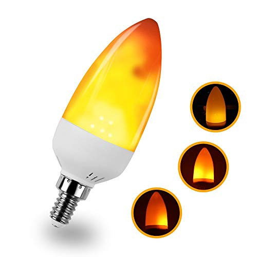 Outdoor Flickering Candle Light Bulbs in US - 4