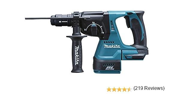 Makita DHR243Y1J Martillo perforador, 0 W, 18 V, Negro, Azul ...