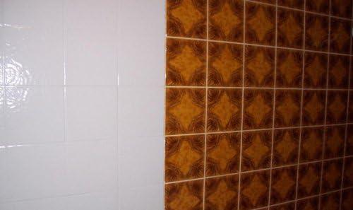 6 Dosen Fliesenlack Cremeweiß Fliesenfarbe 6 X 750 Ml Amazonde