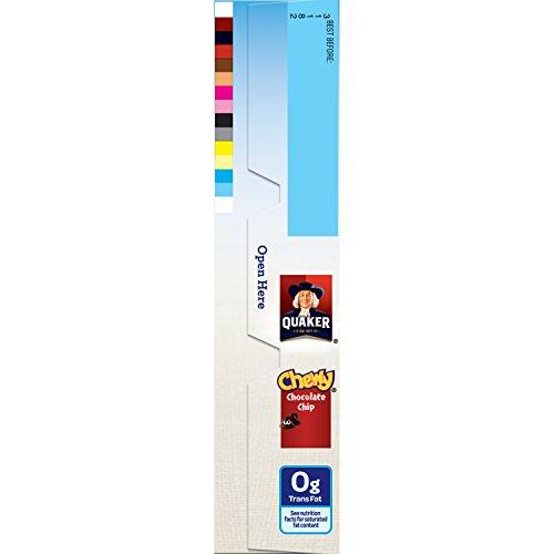 030000311820 - Quaker Chocolate Chip Bars - 0.84 oz - 8 Count carousel main 19