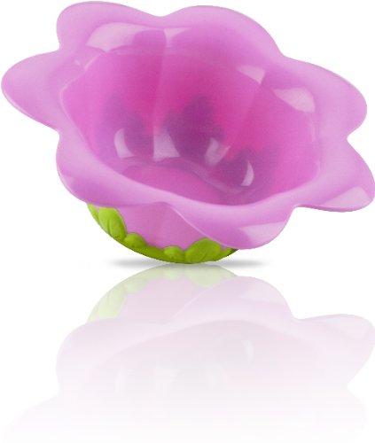 3-D Flower Feeding Bowl Case Pack 24