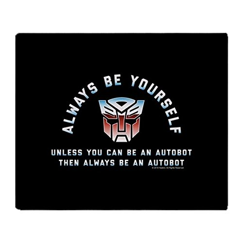 CafePress Transformers Always Be A Autobot Soft Fleece Throw Blanket, 50