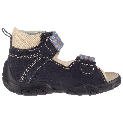 Superfit - Sandalias de vestir de ante para niños Azul