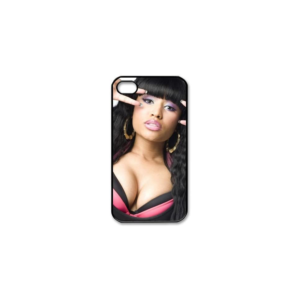 Custom Nicki Minaj Cover Case for iPhone 4 4s LS4 3095