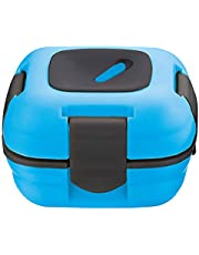 Lunch Box ~ Pinnacle Insulated Leak Proof Lunch Box for Adults and Kids - Thermal Lunch Container with New Heat Release Valve, 16 oz (Blue)