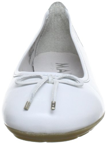 01 Marc Wei 200 donna 26 White Ballerine 1 Shoes Janine Bianco 100 650 ICqSI