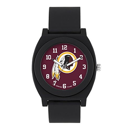 NFL Washington Redskins Mens Fan Series Wrist Watch, Black, One Size ()