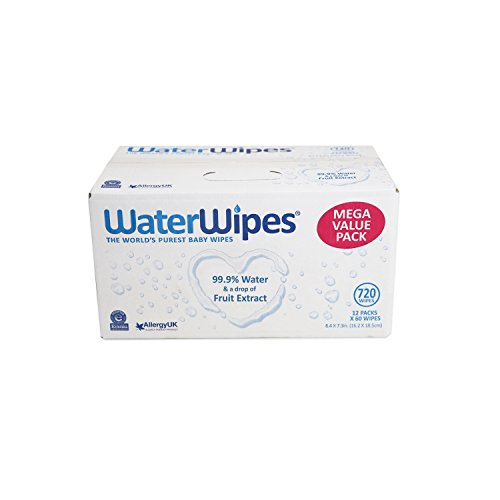 Large Product Image of WaterWipes Sensitive Baby Wipes, 720 Count (12 Packs of 60 Count)