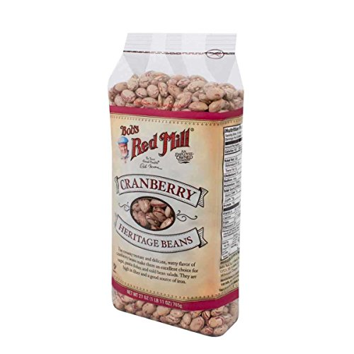 - Bob's Red Mill Beans Cranberry, 27-ounces (Pack of4)