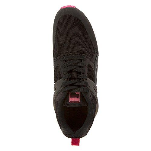 Puma Arial básico deporte zapatilla de deporte Black/Burgundy