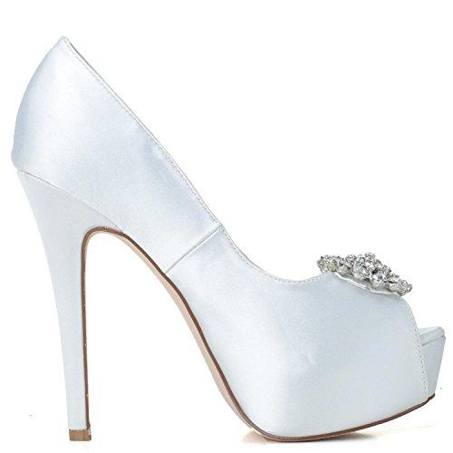 Purple 3128 Scarpe PL high Punta 20 Scarpe Sposa Spuntate alto Sposa Da shoes Donna Da Elegant Da Tacco Scarpe Da Con Strass qp1g4w18
