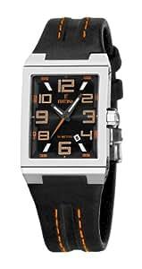 Festina F16187/G–Reloj de pulsera, correa de piel color negro