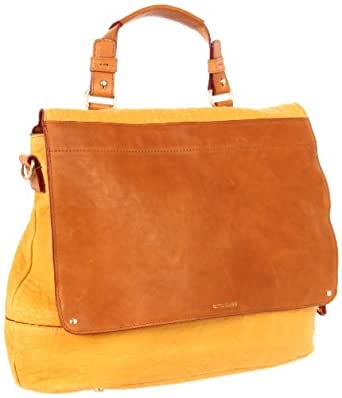 Olivia Harris 21281 Shoulder Bag,Yellow,One Size