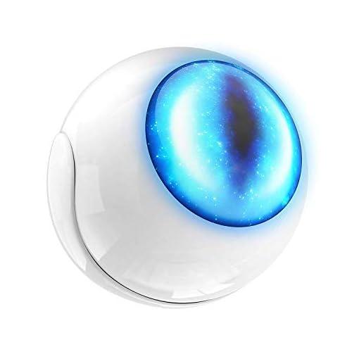 Fibaro FGMS-001 – Sensor de movimiento LED, smart, color blanco y azul