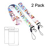 GTOTd Animal Crossing Lanyard with id Holder for