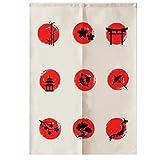 LUNA Sushi Bar Decoration Japanese Curtains Door Hallway Hanging Curtains (A12)