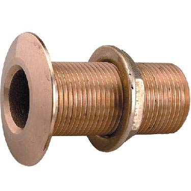 Perko 0322dp5plb 3 4 Bronze Thru Hull Connection with Nut for Use with Pipe