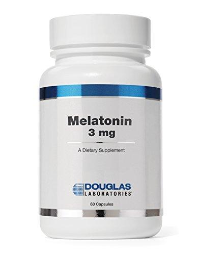 Douglas Laboratories - Melatonin 3 mg - Supports Sleep/Wake Cycles* - 60 Capsules