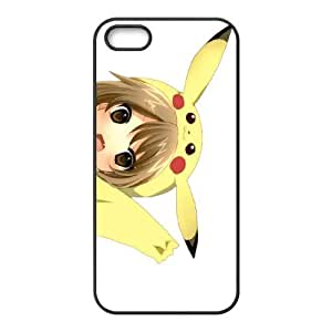 Pikachu iPhone 5 5s Cell Phone Case Black WK5281289
