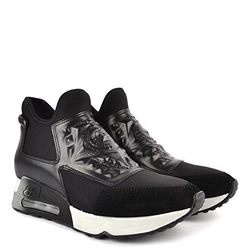 Cuir Chaussures Ash Femme Footwear Ash Noir Baskets en Laser EqqHPwxY