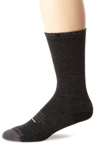 Pearl Izumi Men's Elite Thermal Wool Sock, Black, (Pearl Wool Yarn)