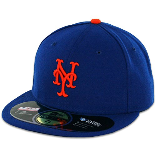 MLB New York Mets Game AC On Field 59Fifty Fitted Cap-678 (New York Mets Fitted Cap)