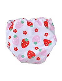 [Strawberry] Reuseable Baby Swim Diaper Lovely Infant Swim Nappy Swimwear