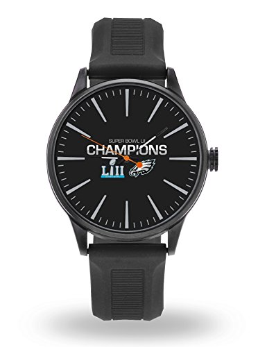 Philadelphia Eagles Champions Cheer Watch Team Color Logo Blue Band Super Bowl Football ()
