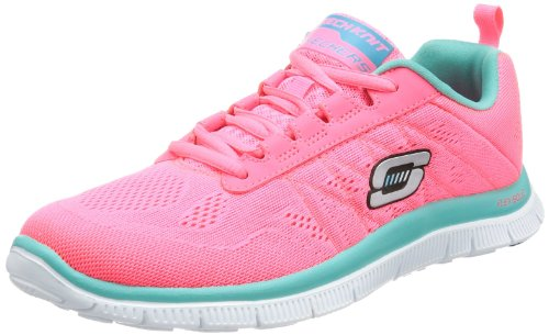 Skechers Flex Appeal-Sweet Spot, Zapatillas de Deporte Exterior para Mujer Rosa (HPTQ)