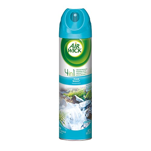 Air Wick Air Freshener Room Spray, Fresh Waters, 96oz (12X8oz)