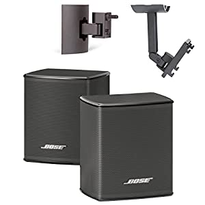 bose virtually invisible 300 wireless surround speakers w ub20 series ii wallceiling bracket bundle