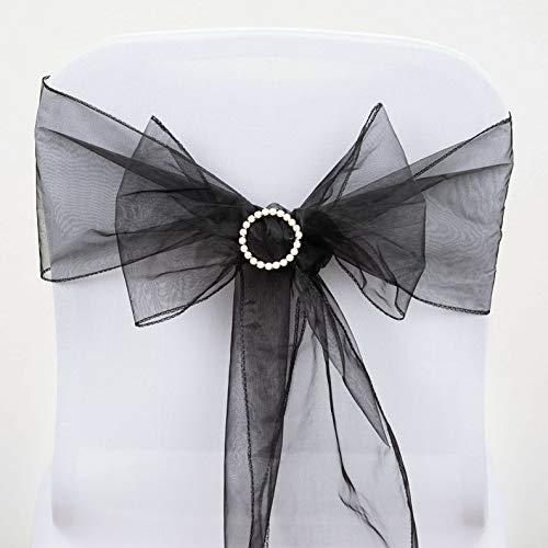Mikash Organza Chair Sashes Bows Ties Wedding Reception