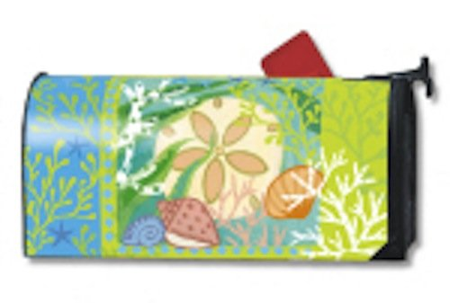 MailWraps Sand Dollar Mailbox Cover #02048