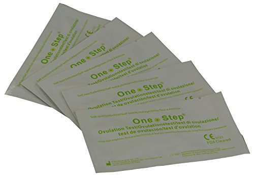 One Step 100 x Ovulation Test Strips 20mIU Fertility Tests + 20 x 10mIU Pregnancy Test Strips by One Step (Image #1)