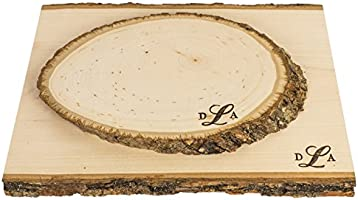 Medium Home Decor /& Rustic Weddings Walnut Hollow Basswood Country Plank for Wood Burning 6 Pack